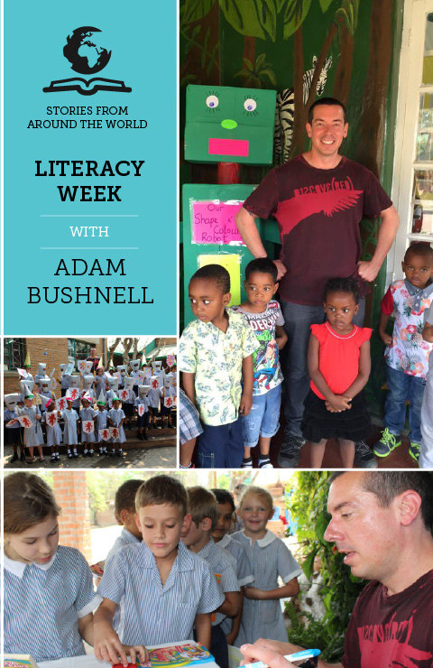 Adam Bushnell Literacy Week